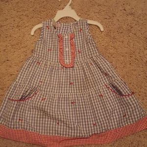 Dorothy from Wizard of Oz style dress